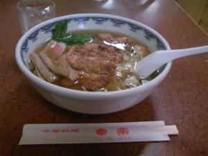 馬橋のパーコー麺