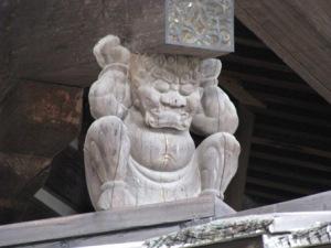邪鬼(奈良・法隆寺)