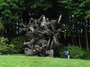 ステラの彫刻(川村記念美術館)