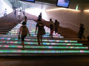 赤坂駅の階段