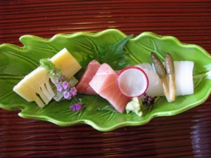 樹さきの竹の子料理