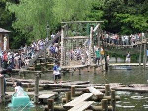 フィールドアスレチック(清水公園)