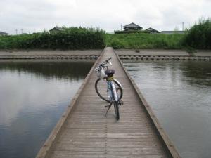 小貝川の沈水橋