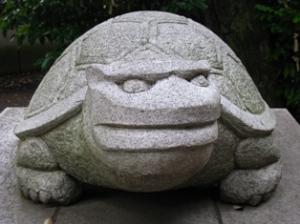 北星神社の駒亀