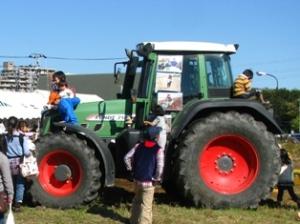 かしわで収穫祭