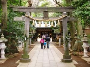 豊四季諏訪神社
