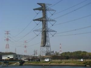 新川の鉄塔