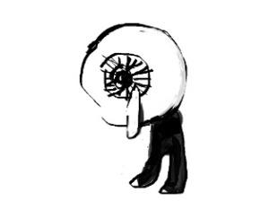 目玉親父の涙
