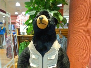 モンベル熊