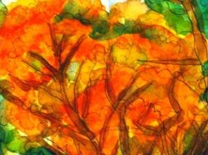 手賀沼公園の紅葉