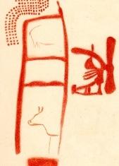 ネアンデルタール人の洞窟画