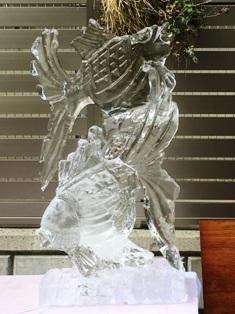 氷の彫刻展