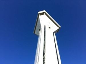霞ヶ浦 玉造虹の塔