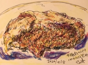ひき肉パイ包み