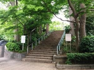 上野公園摺鉢山